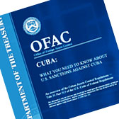 Office of Foreign Assets Control Cuba travel restrictions booklet.